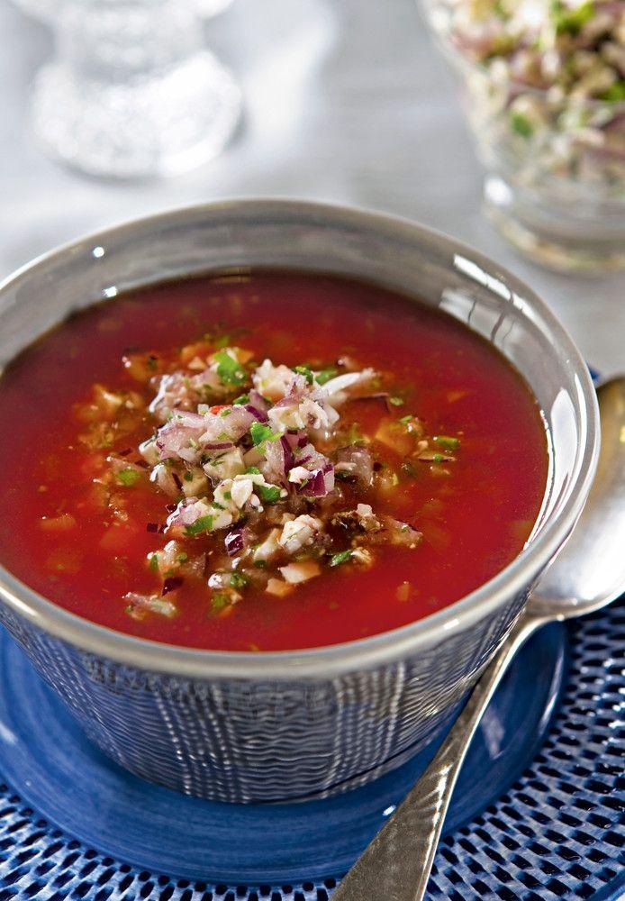Tomaattikeitto ja fetahöystö | K-ruoka