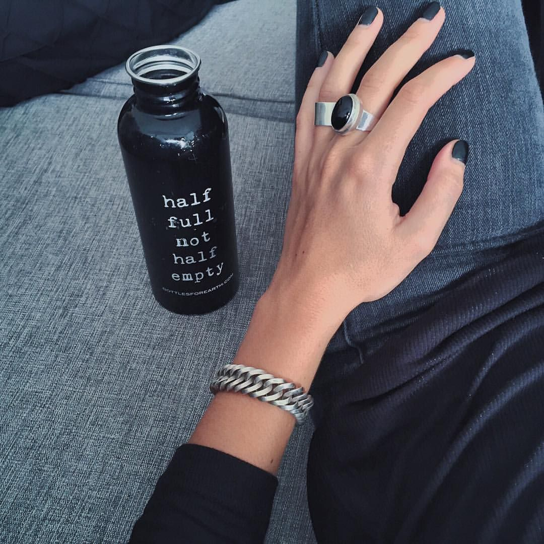 Dark hangover mornings...  #ykmzz #silver #jewellery #half #empty #party #weekend #black #detail #style #fashion #inspo #insporation #ootd #potd #fromwhereistand #happy #saturday