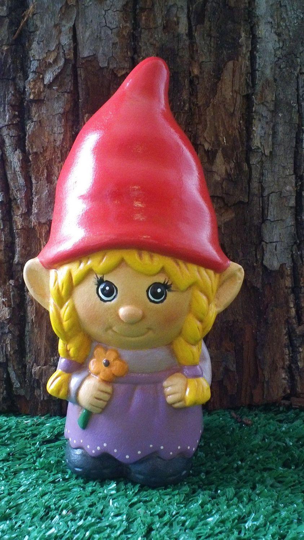 Ordinaire Female Garden Gnomes | Female Garden Gnome Ceramic Girl Garden Gnome Female  Gnome, Garden Gnomes