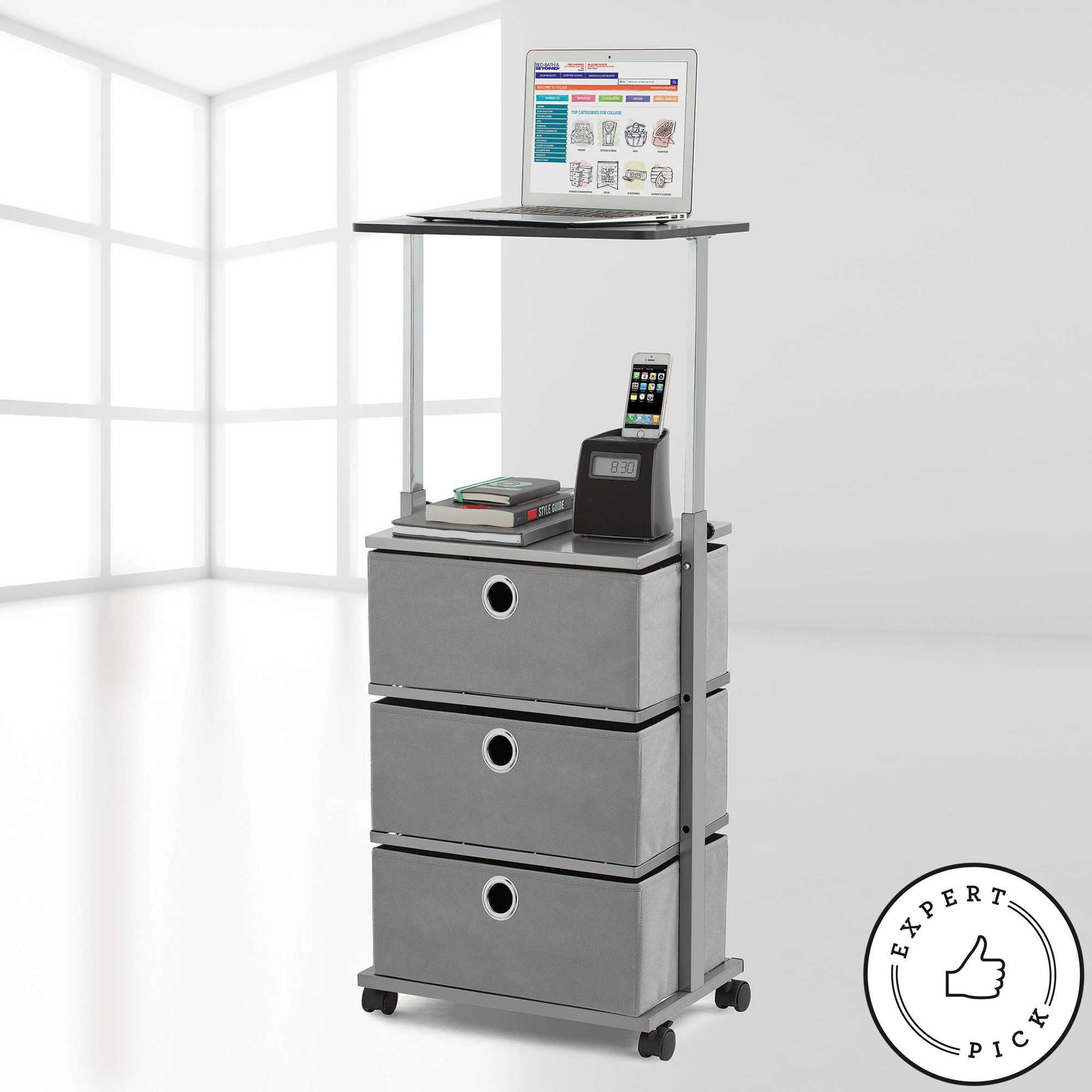 storage wid with iris p drawers qlt hei cart prod top drawer organizer spin