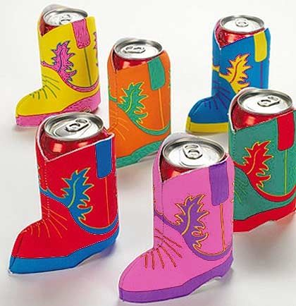 Western Boot Can Cooler - Nashville bachelorette? More like Worcester County bachelorette hehe