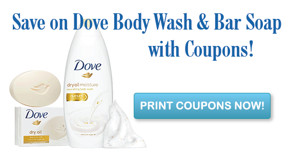 image about Dove Soap Printable Coupons titled Refreshing Dove Overall body Clean Specific Treatment Discount codes Dove system clean