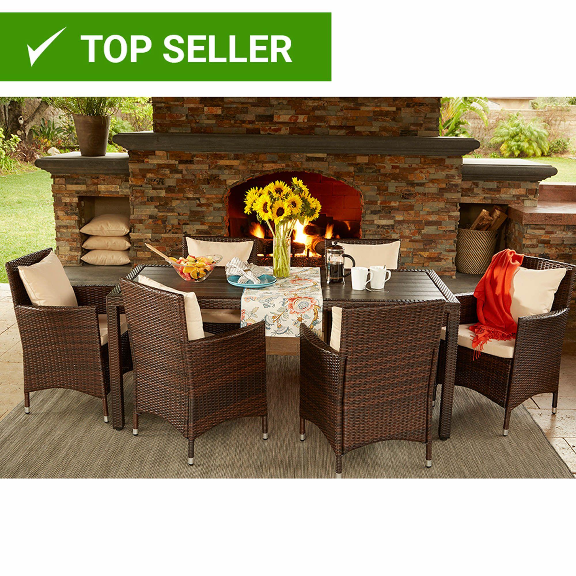 BJs Wholesale Club Product Rectangle dining set, Patio