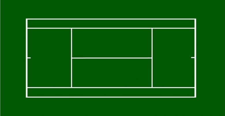 Tennis Court Dimensions How Big Is A Tennis Court Perfect Tennis In 2020 Tennis Court Tennis Tennis Court Size
