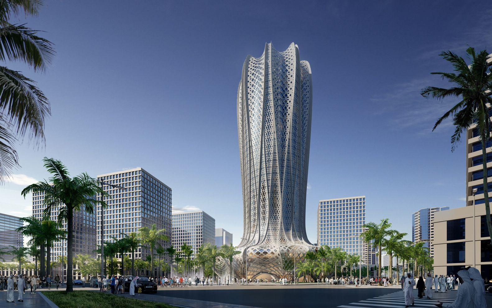 of Zaha Hadid Architects to Design Hotel and Residential Tower in ...