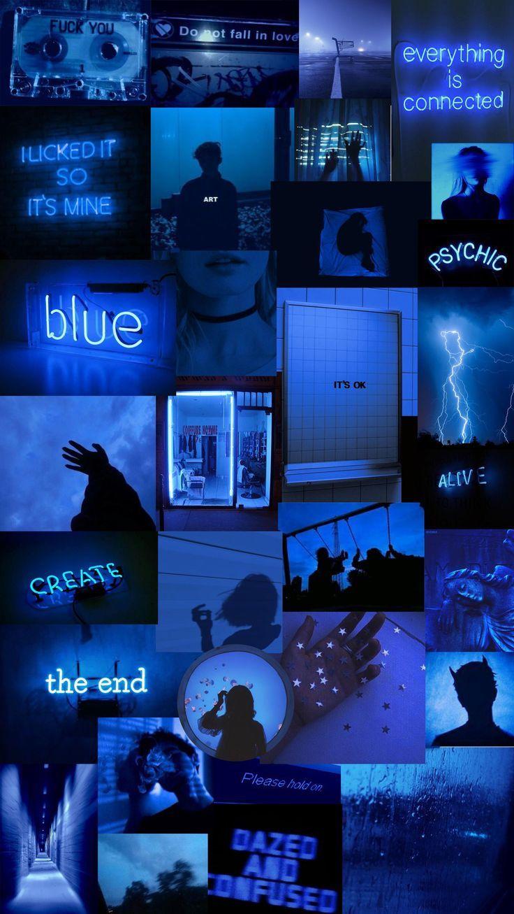 Navy Blue Aesthetic Tumblr