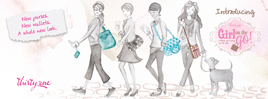 Girl on the Go! 7 new purses and wallets www.mythirtyone.com/gish