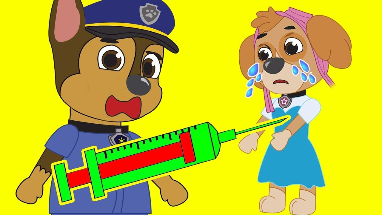 Paw Patrol Episodes Pups Save Tiny Marshall Full Episodes
