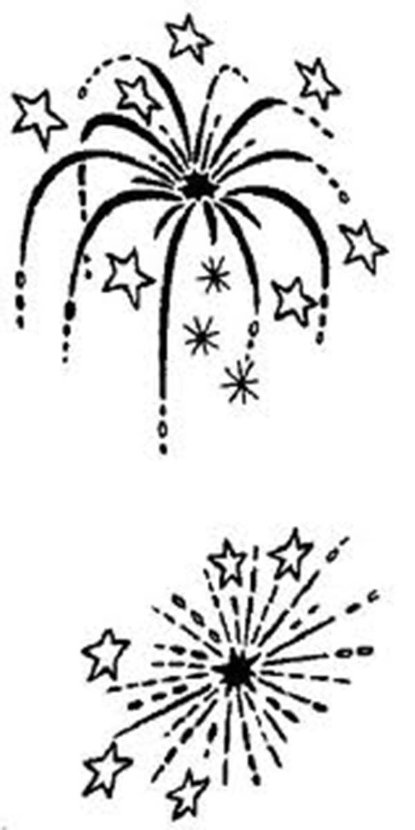 fireworks coloring pages holidays coloringpedia paper