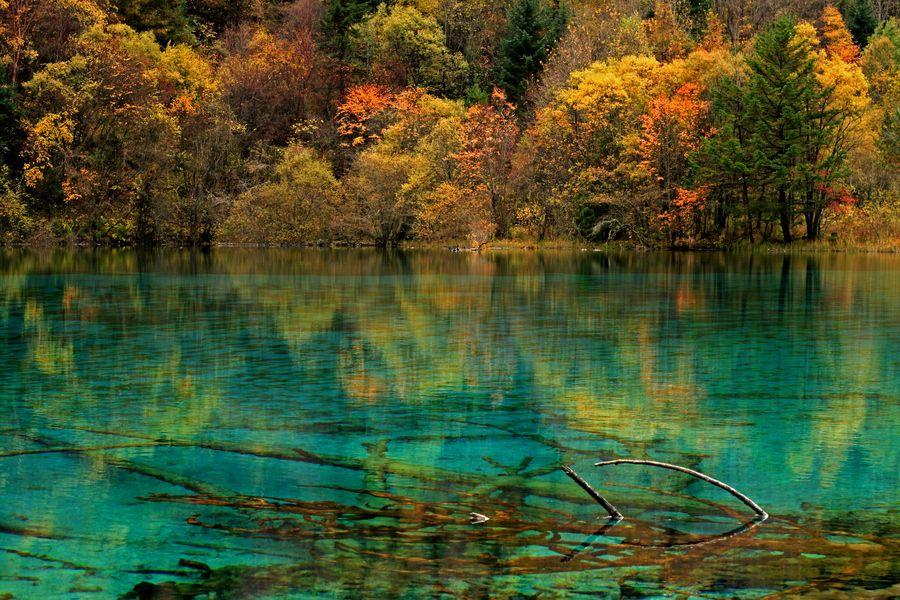 Jiuzhaigou in Autumn by Jacky CW