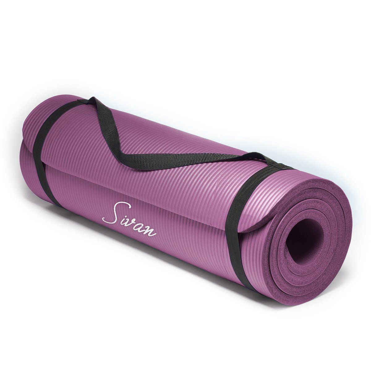 Amazon Com Sivan Health And Fitness 1 X2f 2 Inchextra Thick 71 Inch Long Nbr Comfort Foam Yoga Mat For Exercise Yoga A Yoga Mat Health Fitness Mat Pilates