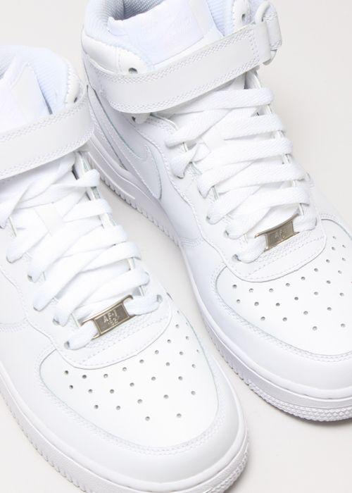 Nike Air Force 1 High Top White/White