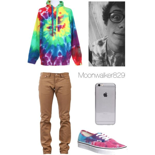 Jack Dail by moonwalker829 on Polyvore featuring polyvore, fashion, style, Naked & Famous and Vans