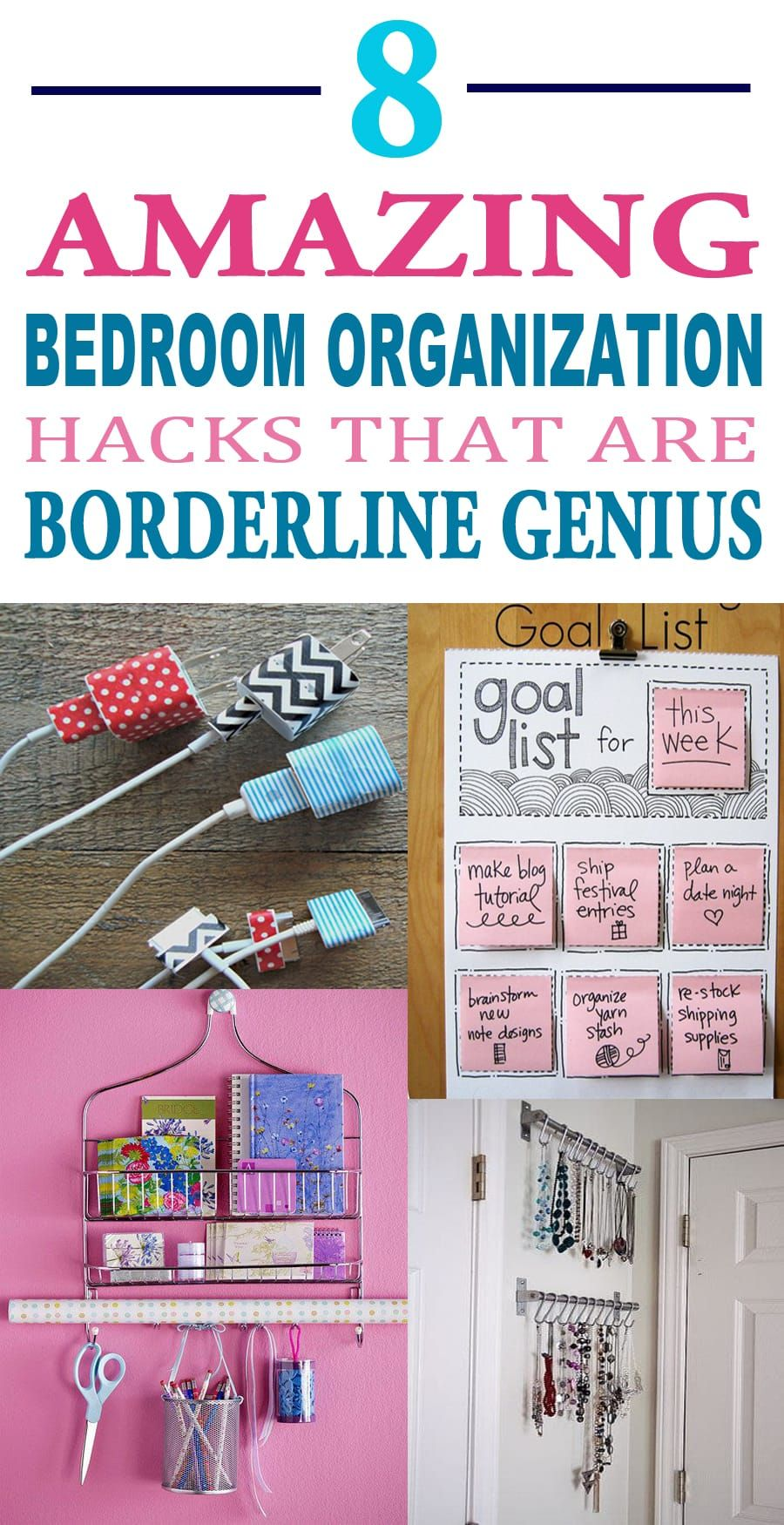 These Are The Best Bedroom Organization Hacks They Ll Also Work For My Dorm Room Definitely Pinning Later