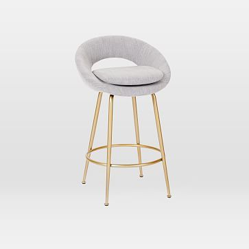 Fine Orb Upholstered Bar Counter Stools Products Counter Gmtry Best Dining Table And Chair Ideas Images Gmtryco