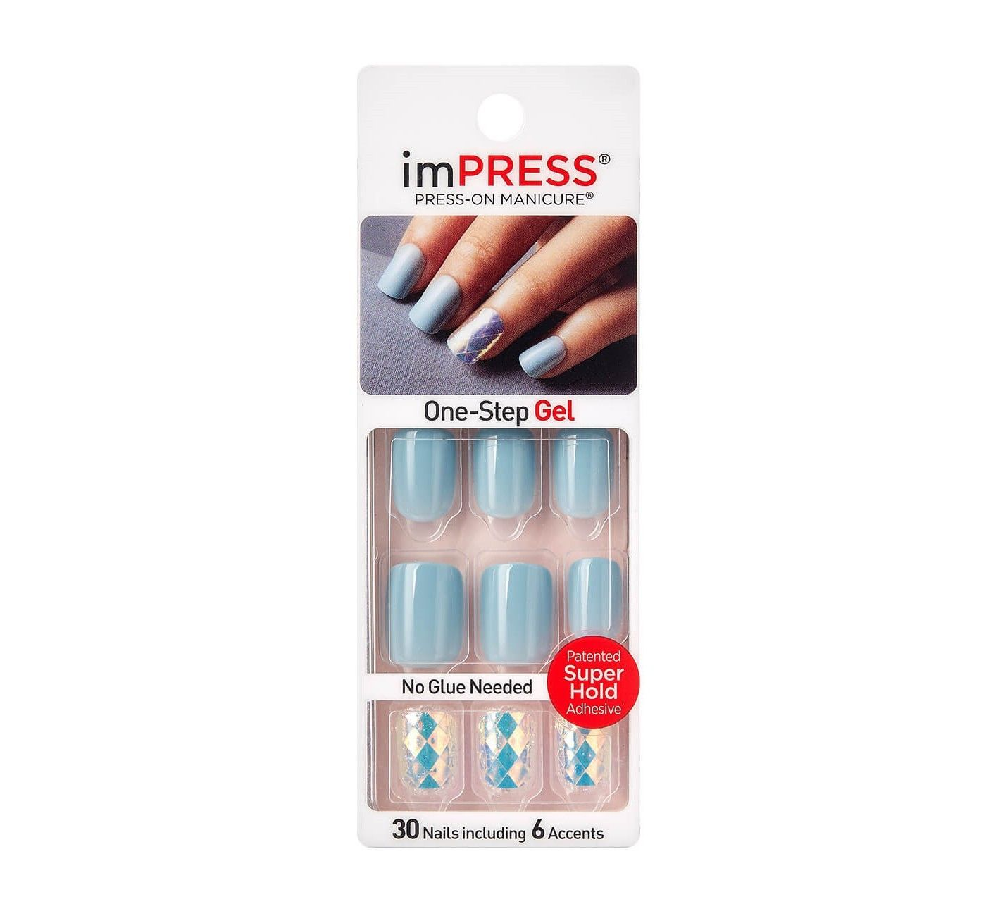 Kiss Impress False Nails Bright As A Feather 30ct Impress Nails Broadway Nails Gel Manicure Nails