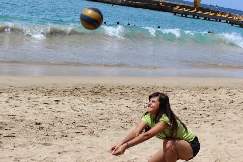 Vollybal beach