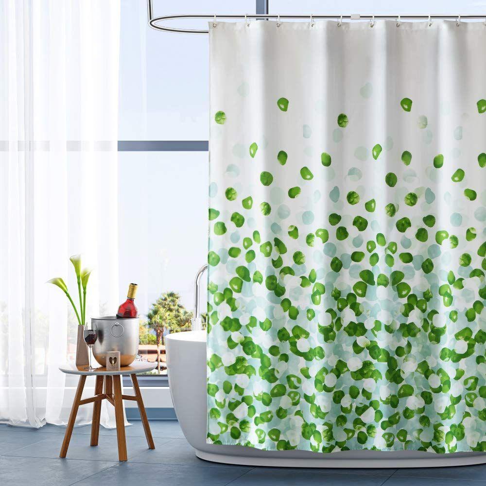 Arichomy Shower Curtain Bathroom Fabric Curtains Set Waterproof