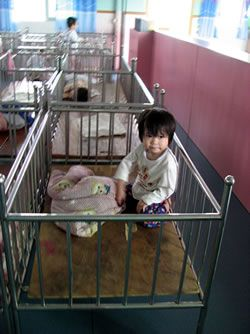 The Dying Rooms China Orphanages Baby Room At Shaoguan