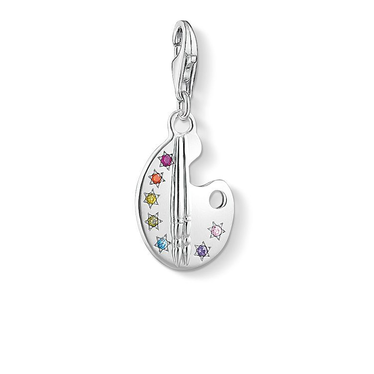 Thomas Sabo Charm Pendant From The Charm Club Collection Fill Your Life With Colour The Bright Colour Palette Charm Ma Thomas Sabo Charms Thomas Sabo Jewelry