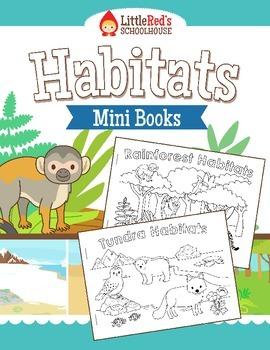 habitat mini books wild kratts class mini books habitats teaching science. Black Bedroom Furniture Sets. Home Design Ideas