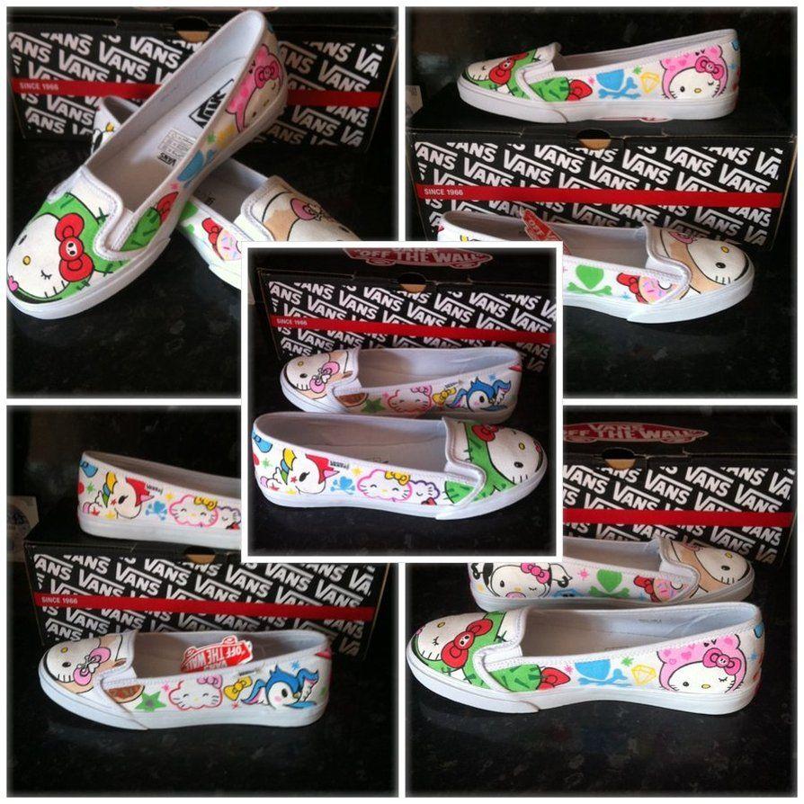 fe6e61d2a Tokidoki KVD Hello Kitty Vans by VeryBadThing on deviantART | Sanrio ...