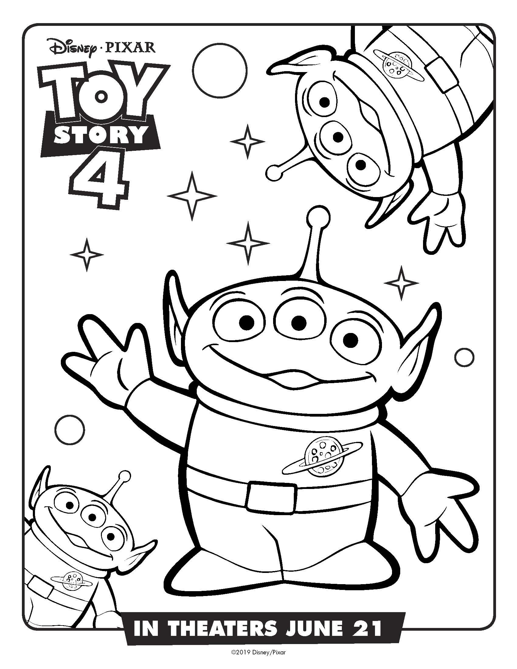 Rex Toy Story 4 Coloring Pages on a budget