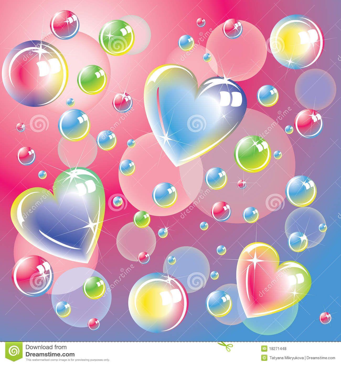 corazones de colores fondo - photo #41