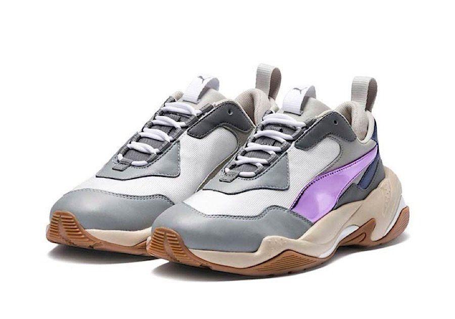 Puma gibt dem Thunder Electric einen lila Streifen | Puma Shoes ...