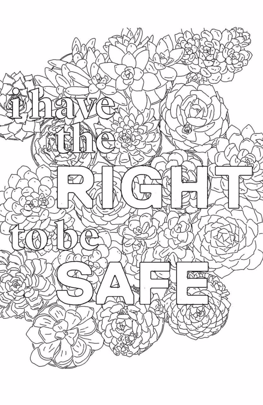 The Self Care Issue Love Coloring Pages Coloring Pages Quote Coloring Pages