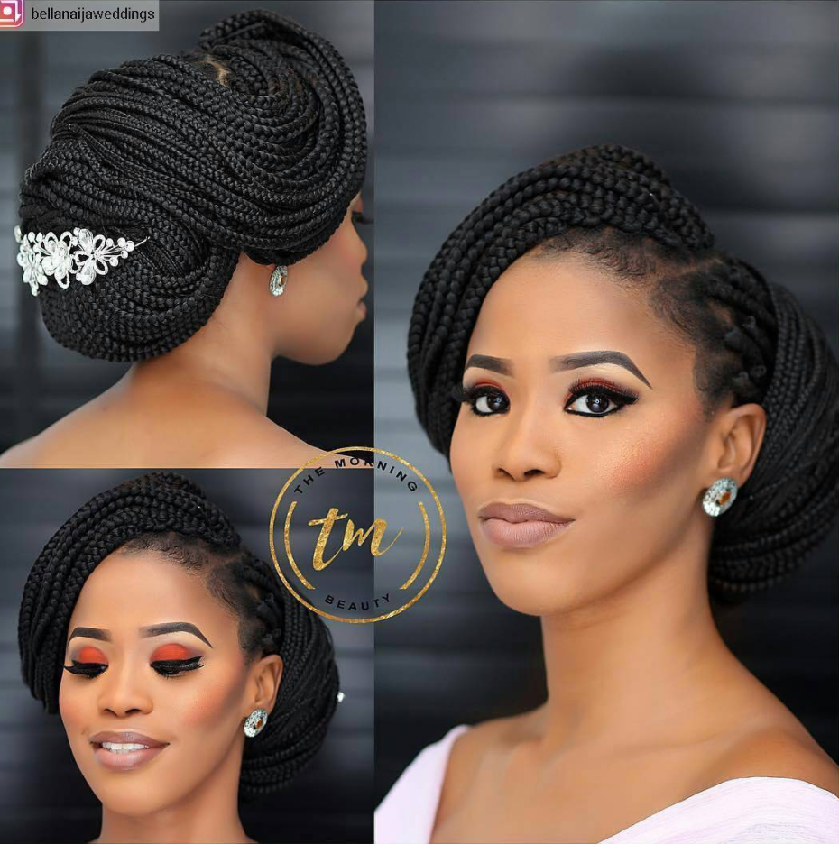 6 Easy And Weatherproof Ways To Style Textured Hair For A Beach Wedding Black Wedding Hairstyles Braided Hairstyles For Wedding Natural Hair Styles