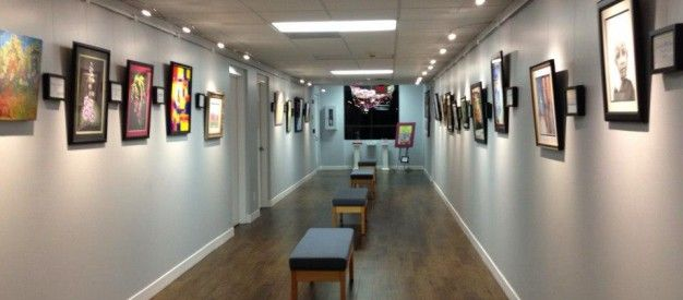 Browse the art from current and former NCA students in our beautiful Art Gallery!