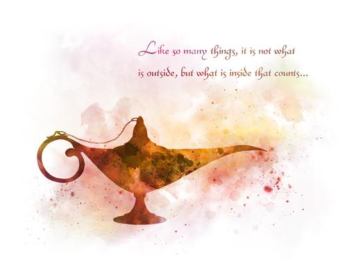 Aladdin Lamp Quote