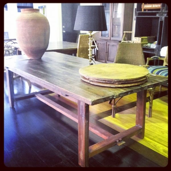 Refectory Base Dining Table Rustic Dining Table French Cheeseboard