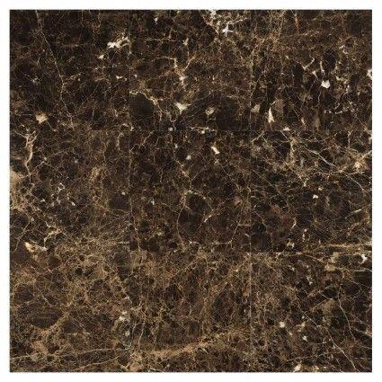 Kingsley Dark Polished Marble Tile