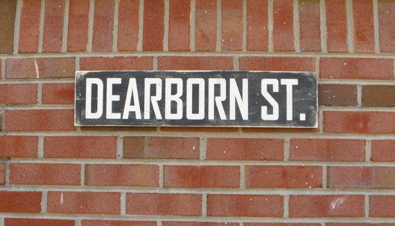 Street Sign Home Decor Inspiration Vintage Style Street Sign Rustic Home Decor Porchsteponitart Design Decoration