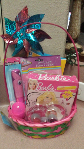 Barbie easter basket with free shipping alicia pinterest barbie easter basket with free shipping negle Images