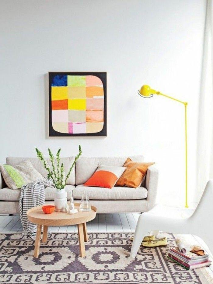 Quelle couleur pour un salon? 80 idées en photos! Couleur, Un and