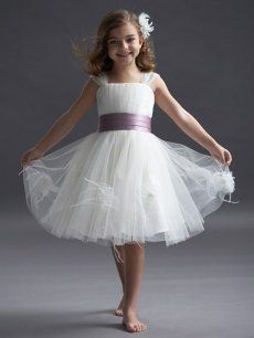 7d5beccc718 Wholesale Straps Tulle Gown With Contrasting Band and Flowers Barrie Cheap  Shop