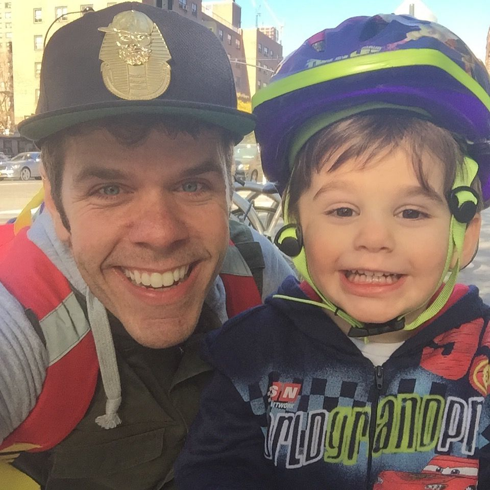 It's a lovely day for a scoot around town! Improving his skillz!! https://instagram.com/p/9MOcIOoah_/  #JRhilton