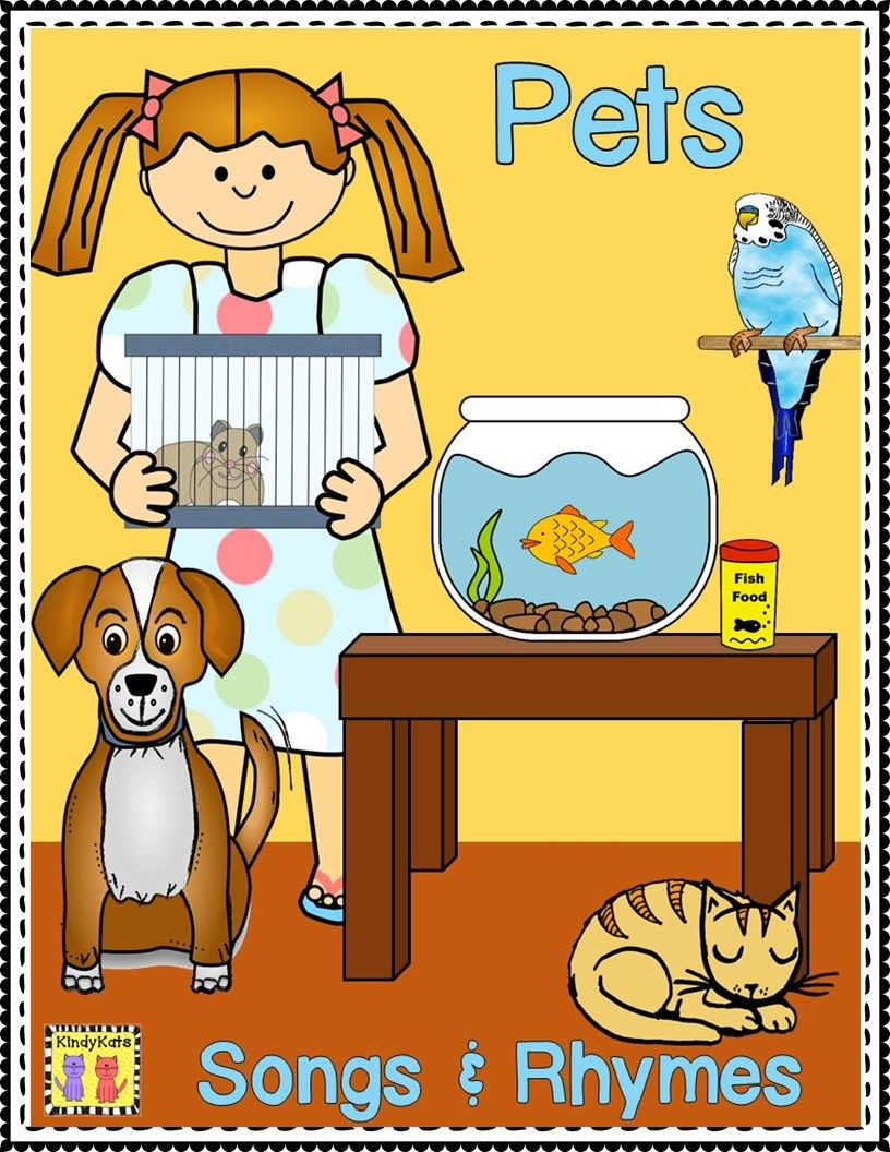 Pets Songs and Rhymes (With images) Pets, Pet fish, Rhymes