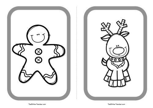tarjetas-de-vocabulario-de-personajes-de-navidad9   Navidad ...