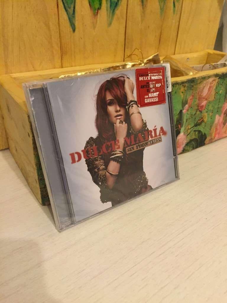 CD Sin Fronteras - Dulce Maria