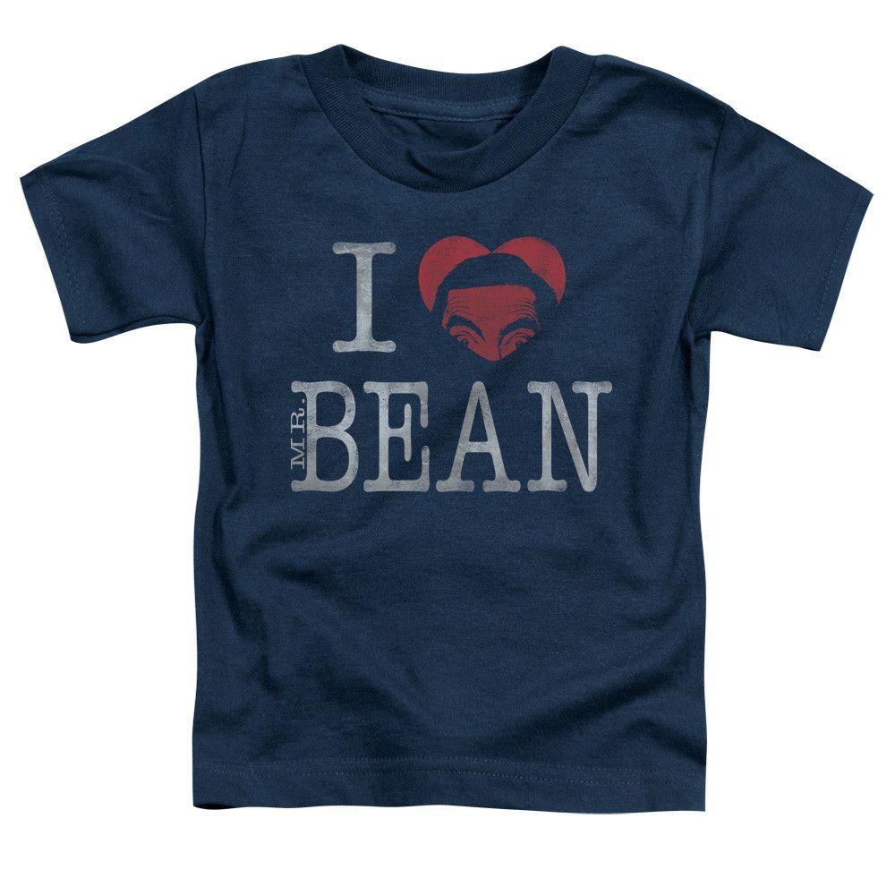 MR BEAN I HEART MR BEAN Toddler Short Sleeve T-Shirt