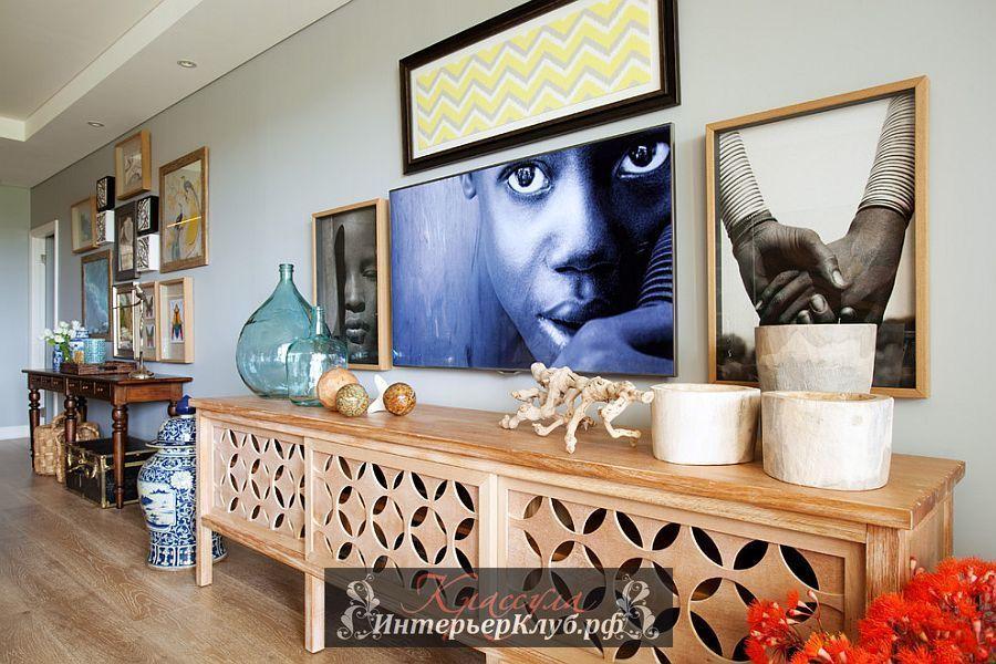 5 Креативное украшение стены, много картин на стене в ...