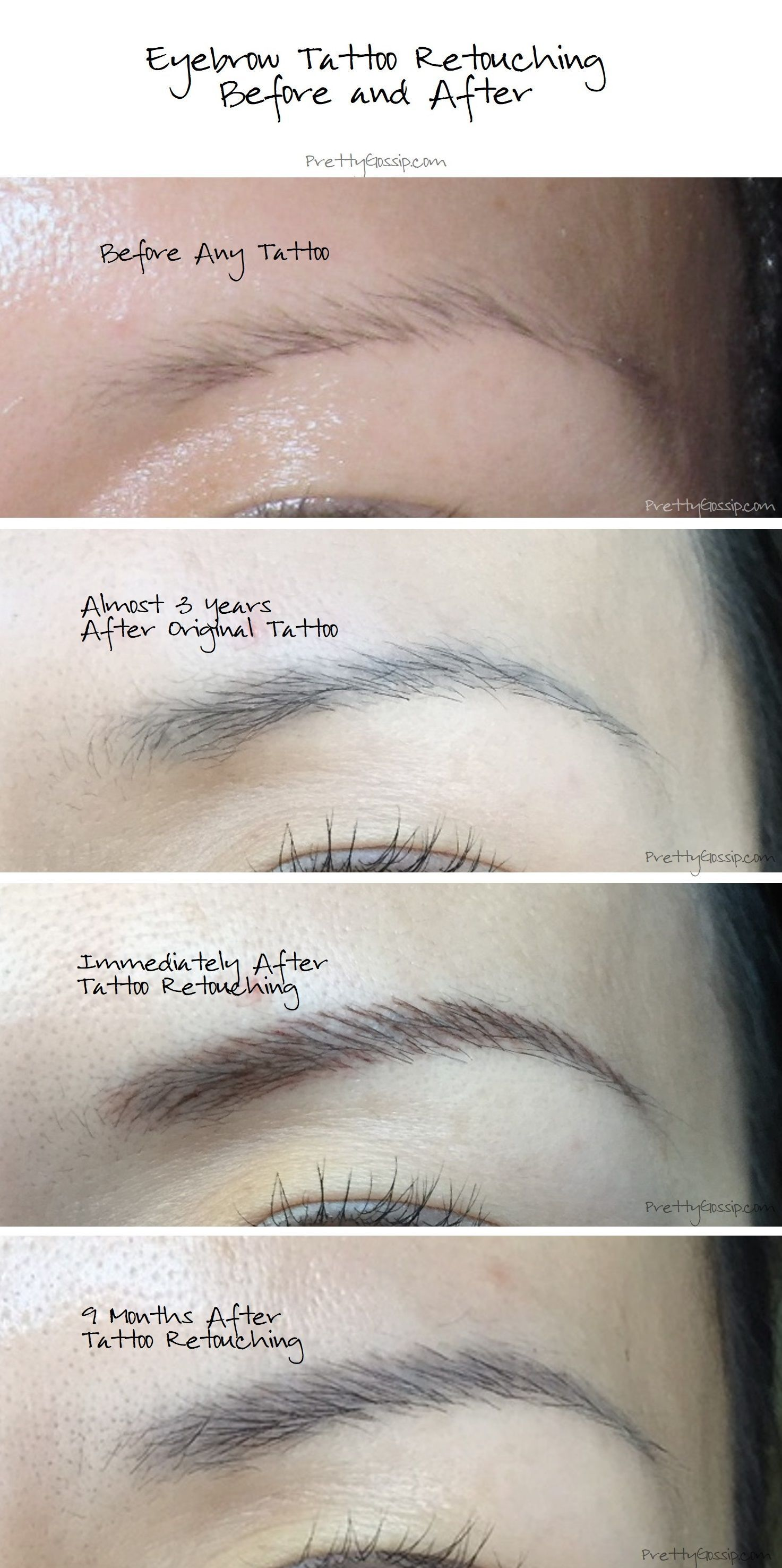 My Eyebrow Tattoo Journey A Must Read Before Getting Any Makeup