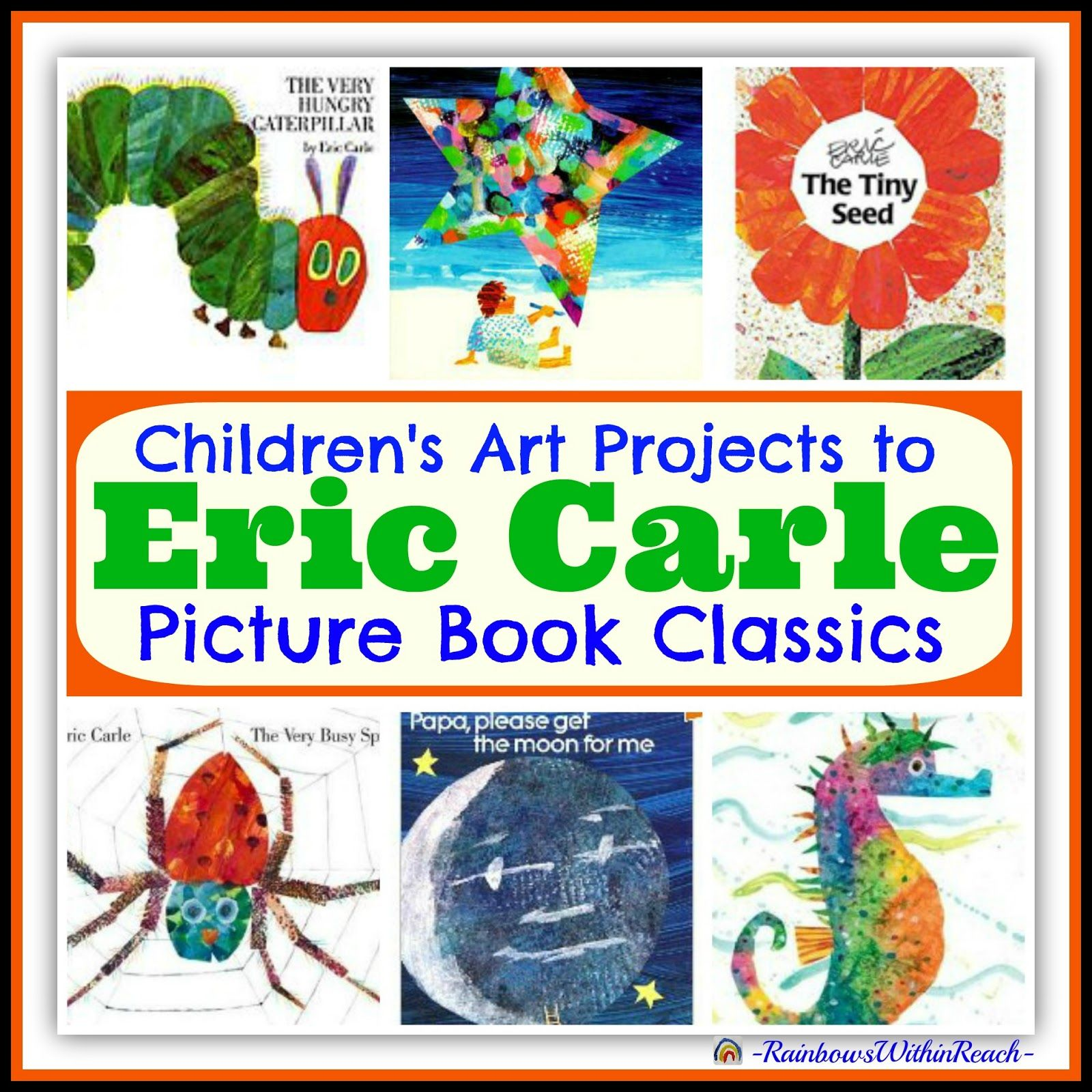 Eric carle birthday party roundup of childrens art