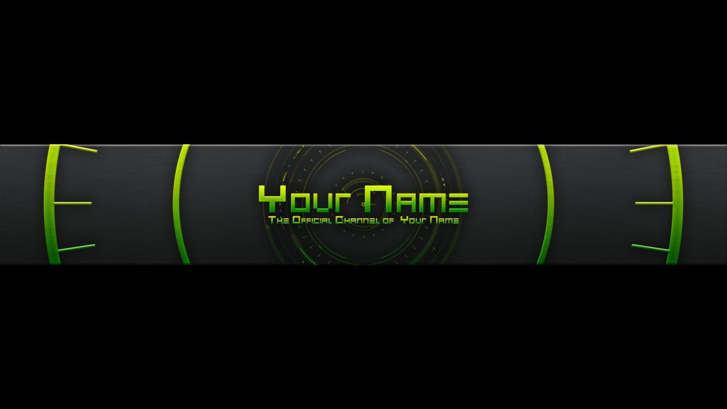 Youtube Banner Templates Template Pinterest