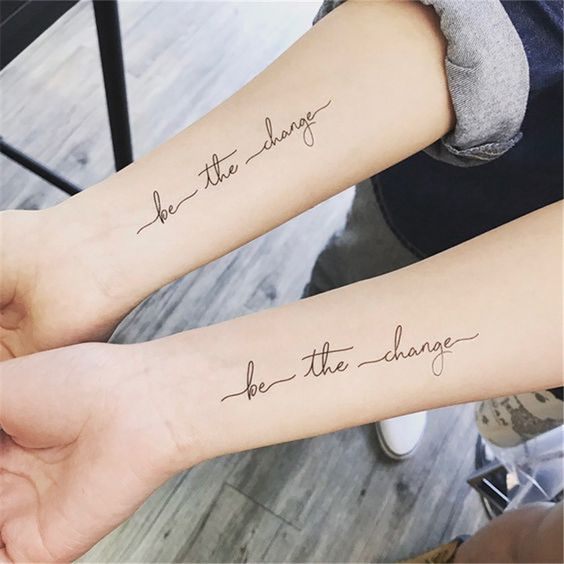 54 Cool Sister Tattoo Ideas To Show Your Bond - Page 13 of