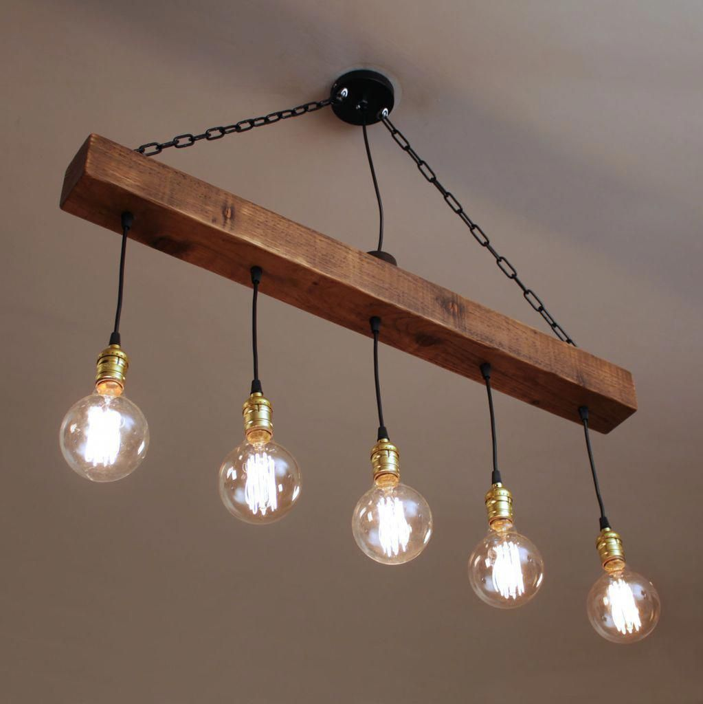 I like this dazzling photo #fineartlamps   Wooden chandelier
